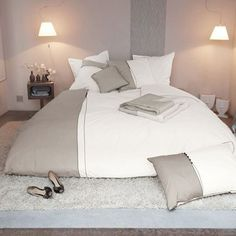 Housse de couette percale de coton - COCO Luxury Bedding, Bed Sheets, Duvet Covers, Sweet Home, Curtains, Pillows, Decoration, Furniture, Bedrooms