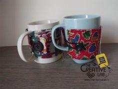 tutorial come fare copri tazza cozy mug natale 25