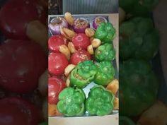 Γεμιστά με κριθαράκι και κιμά του Πατέρα Παρθένιου - YouTube Sprouts, Stuffed Peppers, Vegetables, Youtube, Recipes, Food, Stuffed Pepper, Essen, Eten