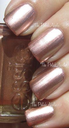 Essie Mirror Metallics Collection Swatches & Review