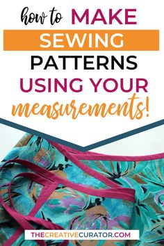 Learn how to make sewing patterns using yout own measurements with these free pattern making basics tutorials! Drafting patterns with your measurements is a great way to start creating patterns, and the tutorials here are free and easy to follow, whether you want to make a bodice block or a skirt block!