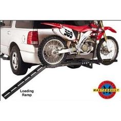 400 Lb Receiver Mount Motorcycle Carrier Trailers