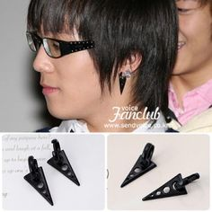 [FTISLAND Style] Arrow Earring(Hong-ki)  Price: $8.00 on Kstargoods.com (The best kpop shop)