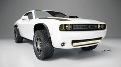 Off-road Dodge Challenger Hellcat? bit.ly/1Nq2uir   Crestview Chrysler Dodge Jeep Ram