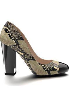 Main Image - Shoes of Prey Cap Toe Block Heel Pump (Women)