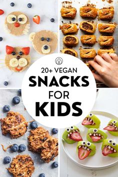 Vegetarian Meals For Kids, Vegetarian Recipes Easy, Healthy Snacks For Kids, Easy Snacks, Healthy Recipes For Kids, Kids Meals, Cute Snacks, Kid Snacks, Healthy Food