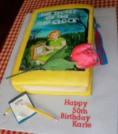 Nancy Drew Cake project on Craftsy.com