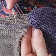Sweater Knitting Patterns, Knitting Designs, Knitting Projects, Crochet Stitches, Knit Crochet, Crochet Patterns, Crochet Granny, Knitting Daily, Hand Knitting