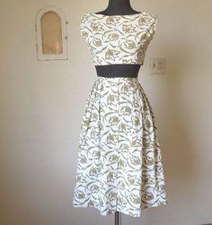 Image result for 50s skirt top sets