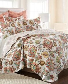 Boho Stein Mart Floral Print Luxury Quilt Collection