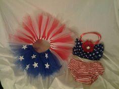 Adorable patriotic tutu set by designsbylorag on Etsy