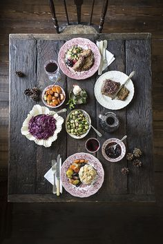 Tablescape — Helen Cathcart food style, food photography, food photographi