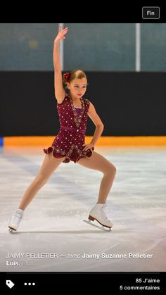 Ice skating dress