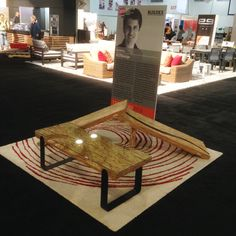Showing at IDSWest Sept, 2014 - Freelance Industrial Design Rustic Industrial, Industrial Design, Furniture Projects, Rustic Style, Coffee Tables, Dining Table, Inspiration, Color, Home Decor