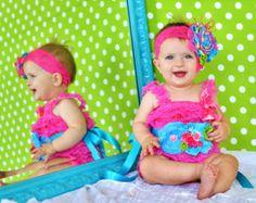 Vestido de encaje rosa polvoriento / bebé por OohLaLaDivasandDudes