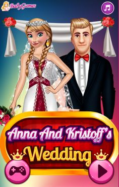 ANNA AND KRISTOFF'S WEDDING  http://playfrozengames.com/frozen-games/anna-and-kristoffs-wedding