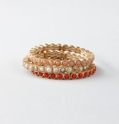 Loft - LOFT New Arrivals - Cast Rhinestone Stretch Bracelet Set
