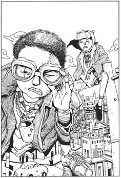 Dedicated to all things Taiyo Matsumoto; one of the most talented manga visionaries working today. Art And Illustration, Illustrations And Posters, Comic Kunst, Comic Art, Manga Artist, Manga Pictures, Japanese Artists, Anime Comics, Anime Manga
