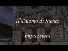 Il Duomo di Siena - YouTube