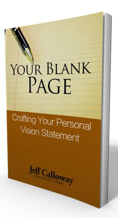 Still looking for some folks to help crowd edit new ebook titled Your Blank Page:Crafting Your Personal Vision Statement. Let me know if you would like to help or send me a message with your email address.