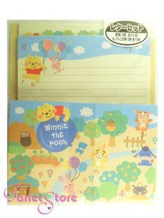 Pooh Letter Set