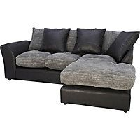 Corner Sofas at Homebase: Corner sofas, leather corner sofas, large corner sofas, small corner sofas and fabric corner sofas for sale online in the UK