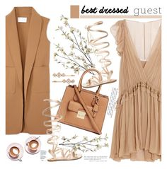 """No 393:Best Dressed Guest: Barn Weddings (Top Set)"" by lovepastel ❤ liked on Polyvore featuring Pier 1 Imports, Chloé, Michael Kors, Alexander Wang, Gianvito Rossi, Henri Bendel, Martha Stewart, bestdressedguest and barnwedding"