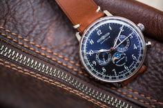 Zeppelin nous offre la lune, avec une montre très abordable, tout en laissant une qualité très acceptable, et des codes vintage bien présents.