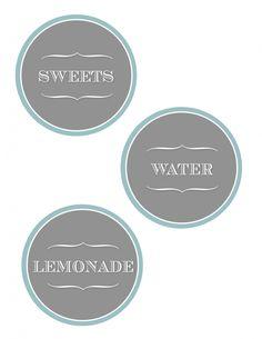 Food Label Printable - Designer Blogs