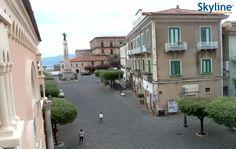 Live Webcam #Teggiano - Piazza San Cono. #Italy #Campania #Travel #Livecam