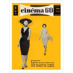 Sophia Loren Cinema 60 Poster