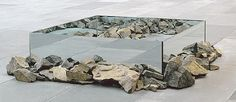 Rocks and Mirror Square II (1969-1971) by Robert Smithson
