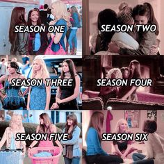 Bonnie & Caroline & Elena seasons.