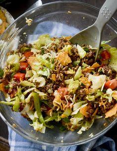 Dorito Taco Salad – Recipe Diaries