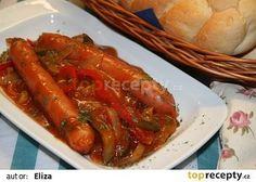 Slovak Recipes, Czech Recipes, Hungarian Recipes, Russian Recipes, Sausage Recipes, Cooking Recipes, Appetisers, Food 52, Chicken Wings