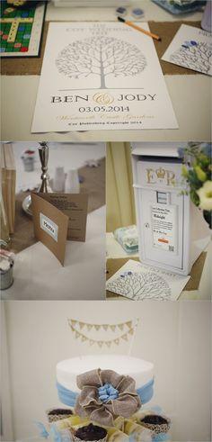 quirky diy wedding details