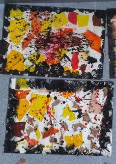 Un polsim de sal: Esquitxem la tardor Arts And Crafts, Diy Crafts, 1, Art Paintings, Activities, Creativity, Artists, Blue Prints, Manualidades