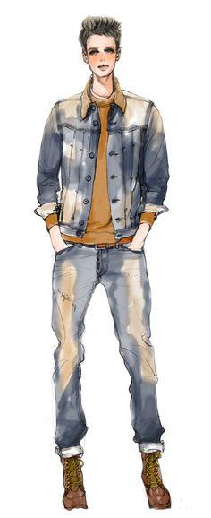 【fashion illustration】 xunxun missy