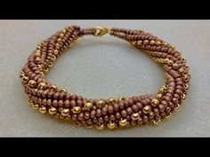 How to make the Golden Spiral Bracelet around a form ~ Seed Bead Tutorial Chakra Bracelet, Seed Bead Bracelets, Seed Bead Jewelry, Bead Jewellery, Beaded Jewelry, Diy Bracelet, Beaded Necklaces, Diy Necklace, Bead Weaving