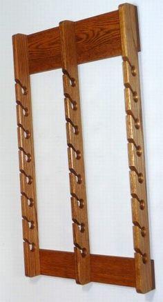 Triple Wooden Cap Rack