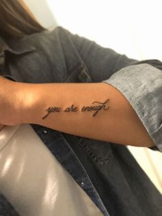 Couple Tattoos Sayings . Couple Tattoos Sayings . Couples Tattoo Tied to Her with the Infinity Sign and A Kritzelei Tattoo, Forearm Tattoo Quotes, Forarm Tattoos, Shape Tattoo, Dope Tattoos, Pretty Tattoos, Piercing Tattoo, New Tattoos, Body Art Tattoos