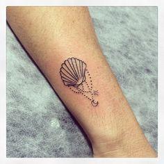 #tattoo #shell #tatuagem #ink #tattooed #binghatattoo @mariana.falcao
