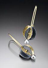 Bimetal Earrings by Christine MacKellar