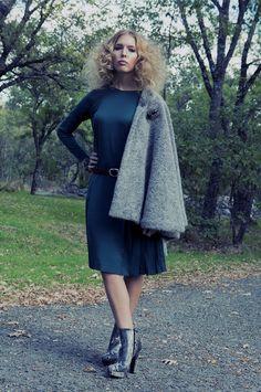 Walk around the Trees Model: Andrea Mtz de la Pera Stylism: Carmen Bena Make Up and Hair. Ismael Rodriguez Bachiller y Blanca Canalejo