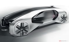 Renault 'EZ-GO' Concept Car Envisions What a Future Taxi Might Look Like By Basmanov
