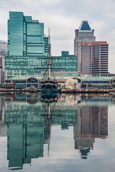 USS Constellation (built in 1854), Baltimore Harbor, Baltimore, Maryland, USA.