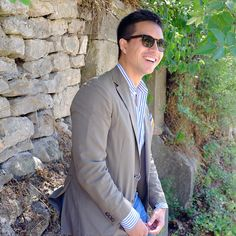 """Leafy Bower"". Carlo Avocado wearing #EPOS sunglasses. #eyewear #style #fashion"