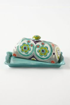 Okuno Butter Dish @Pascale Lemay Lemay Lemay De Groof