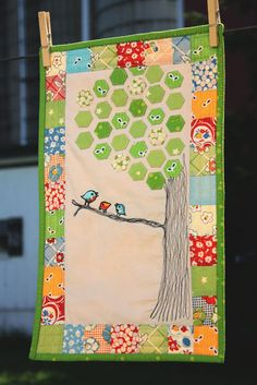 3 little birds by Why not sew? quilts