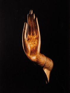 Buddha Hand at National Museum of Gampeng Pet, Thailand, 1970.
